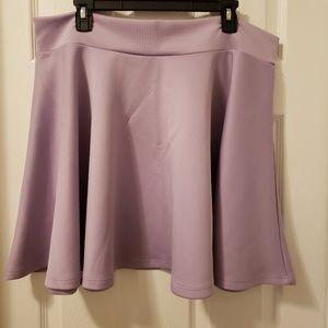 Dresses & Skirts - Plus size lavender skater skirt